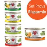 Disugual Fresh Fruit Plus Salmone con Mirtilli, Disugual Fresh Fruit Plus Pollo con Ananas, Disugual Fresh Fruit Plus Manzo con Melone, Disugual Fresh