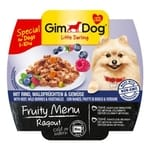 Gimdog Little Darling Fruity Menu 8 x 100 g - Ragù con Manzo, Frutti di Bosco e Verdure