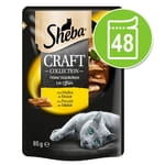 Sheba Craft Collection Pack 48 x 85 g - Tonno