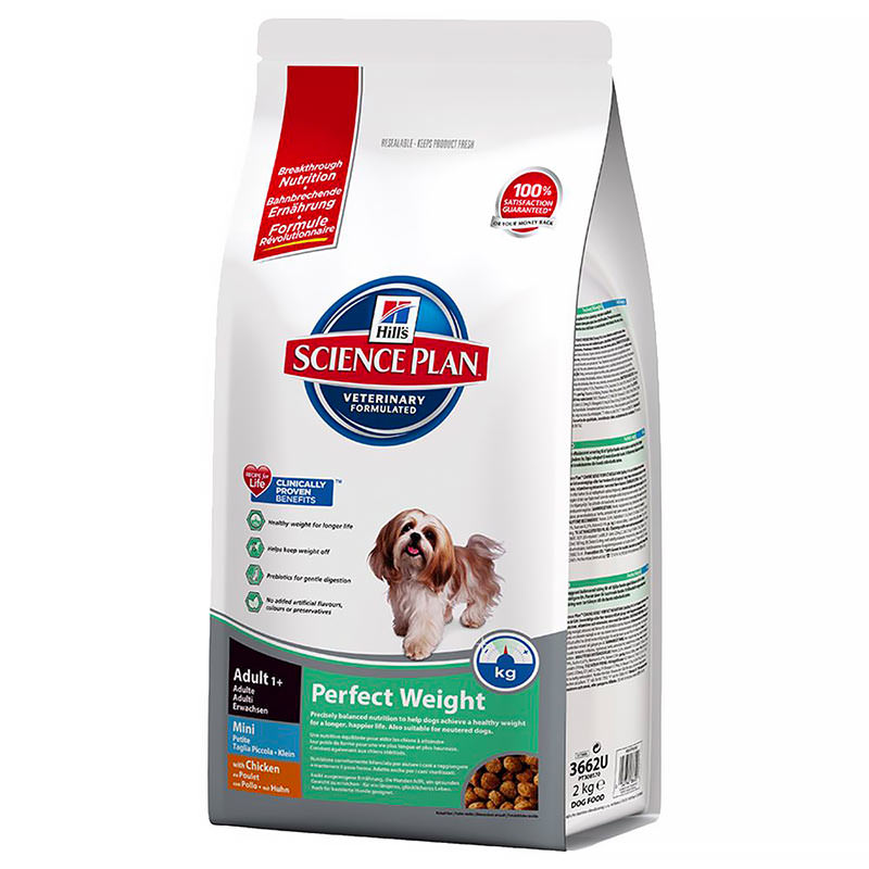 Science Plan Canine Adult Perfect Weight
