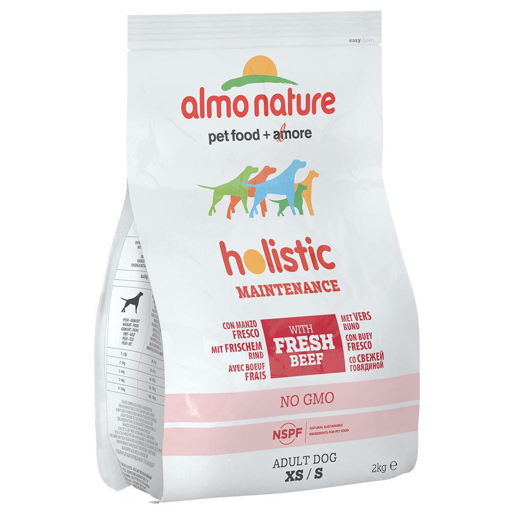 Almo Nature Holistic Small Adult con Manzo