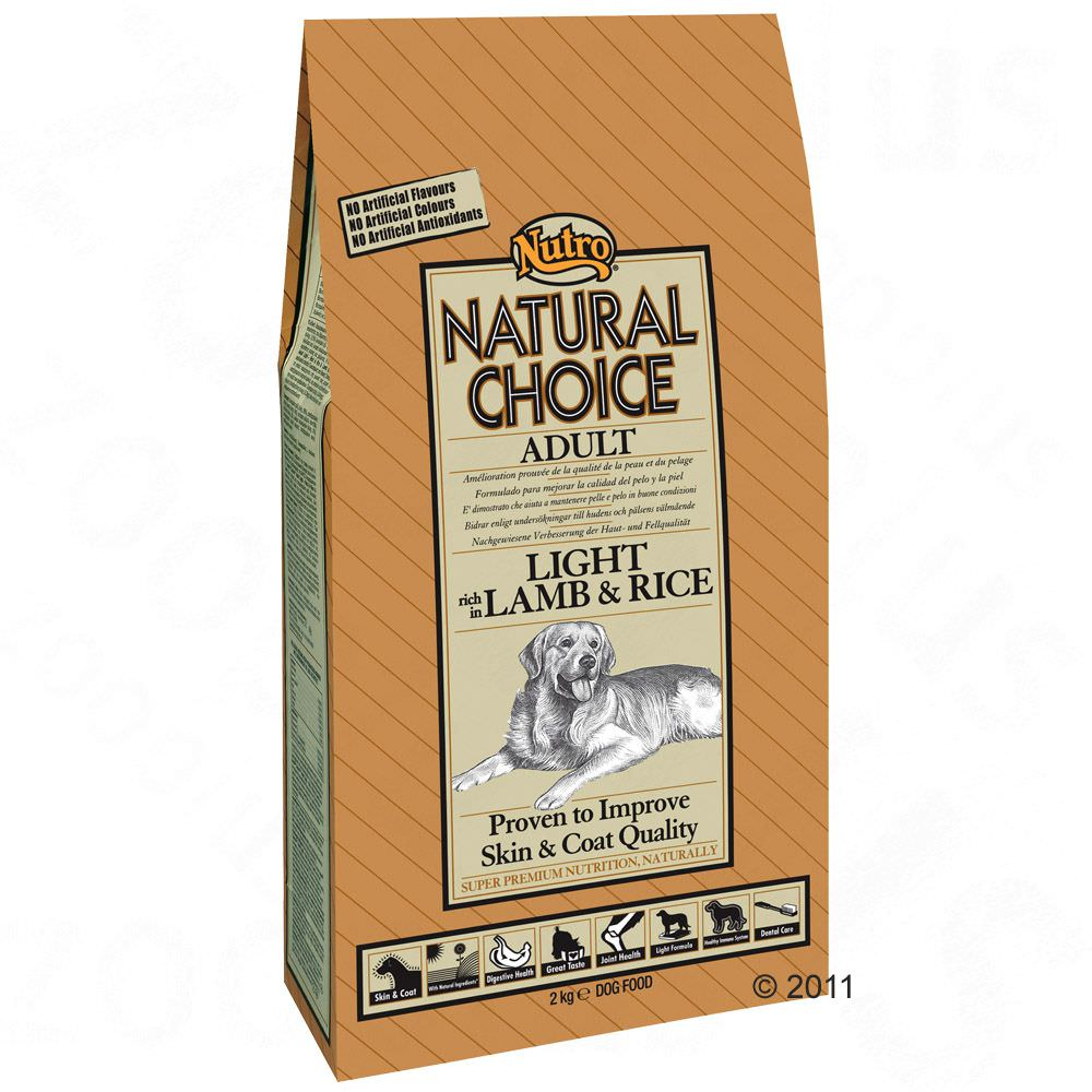 Nutro Natural Choice Adult Light Agnello e Riso