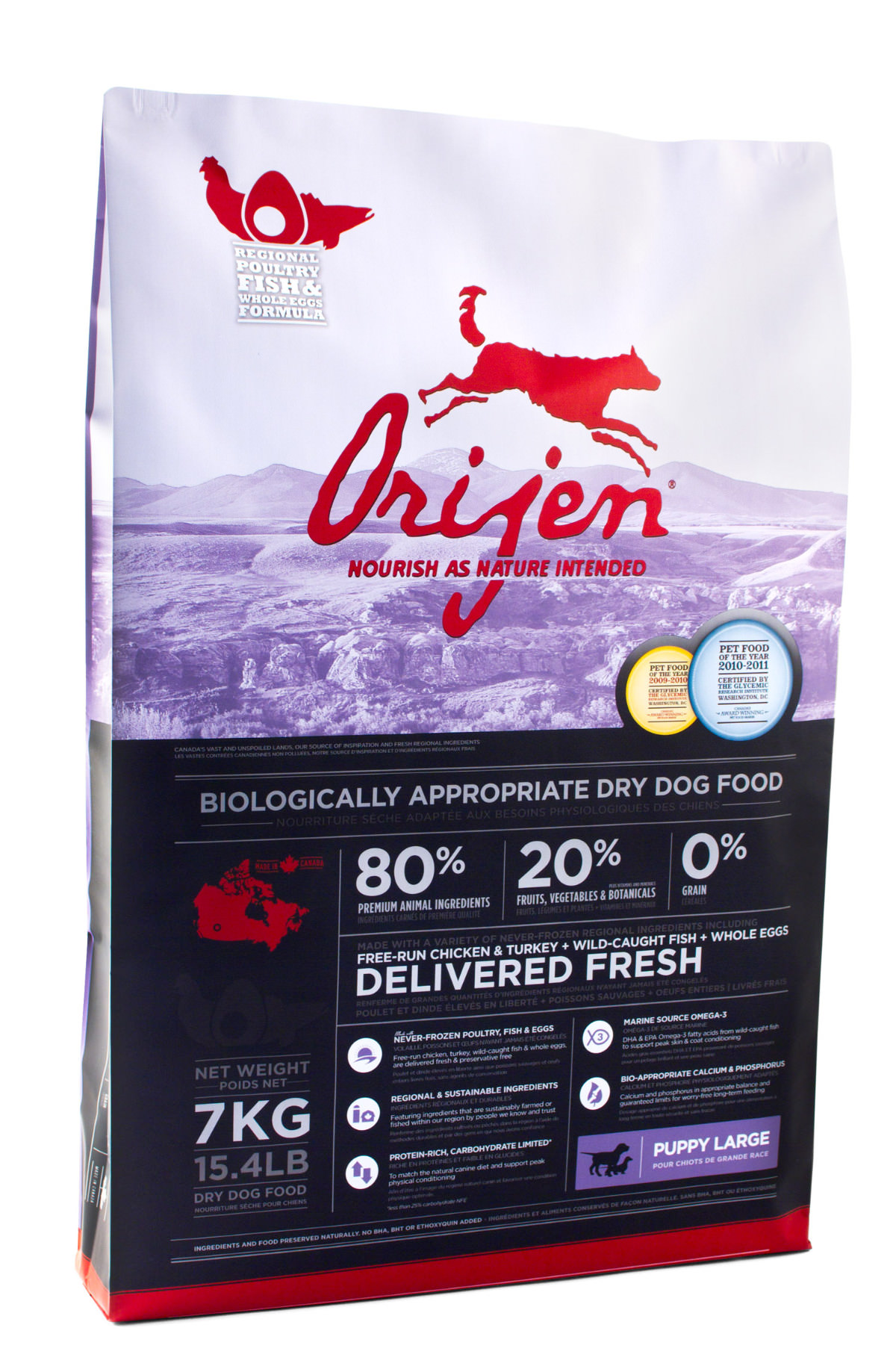 Orijen Grain Free Large Breed Puppy