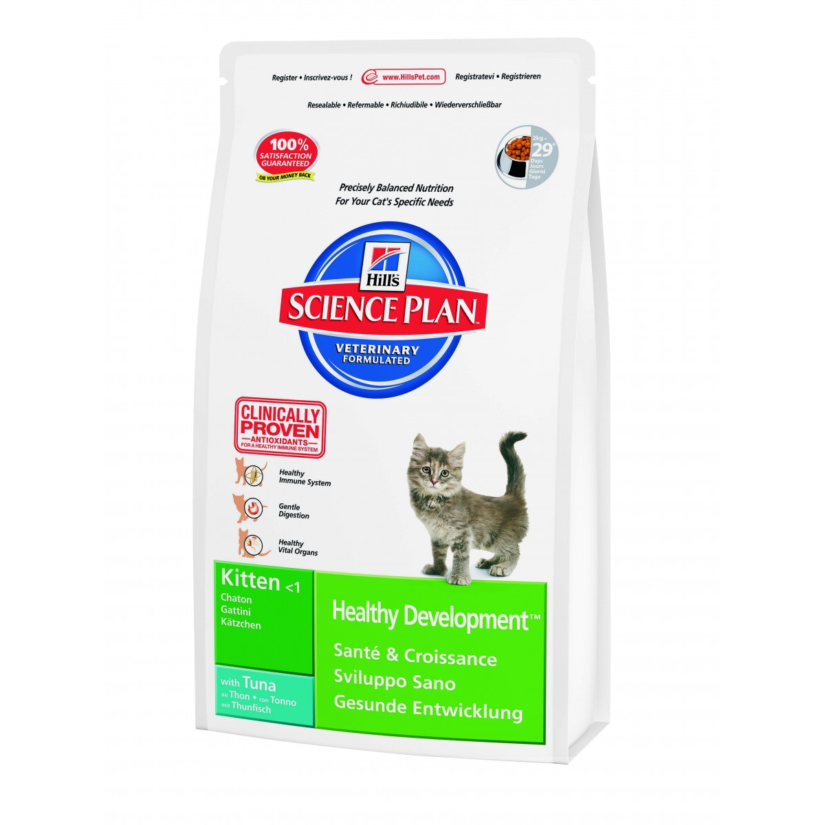 Kitten Healthy Development con tonno